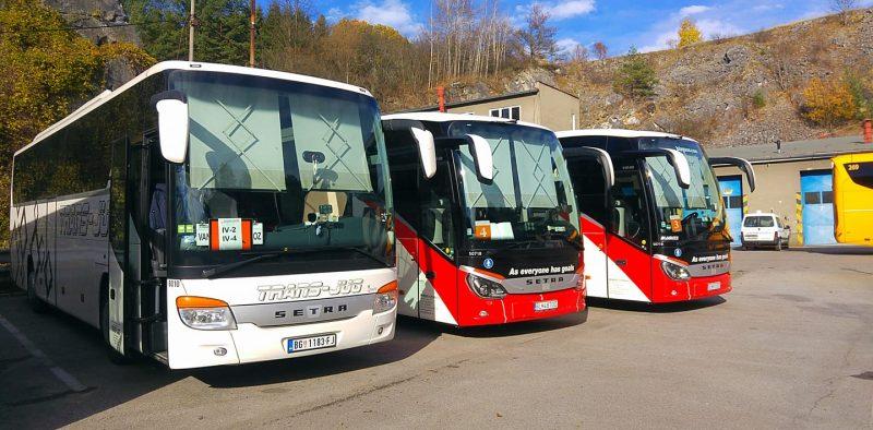 Setra-prevoz đaka-Češka